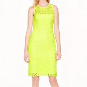 4 J. Crew Collection Neon Lace Dress